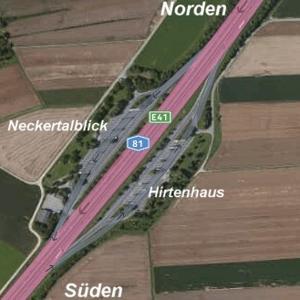 A81 - zw. Rbg und Horb