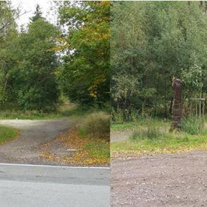 Wald / Parkplatz Abf.A61 Boppard / Pfaffenheck !